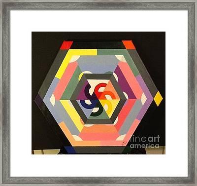 Warm Reception Framed Print