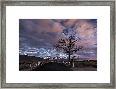 Warm Springs Rd. Framed Print by Cat Connor