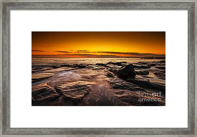 Warm Summer Glow  Framed Print by Michael Ver Sprill