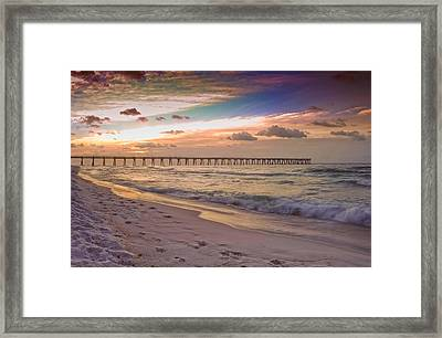 Warm Thoughts On A Winter's Day Framed Print