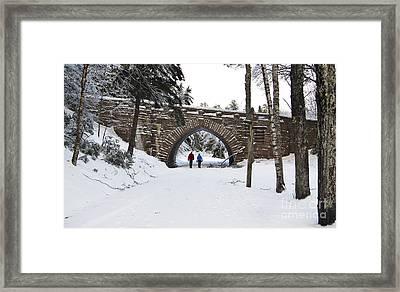 Warm Winter Day Framed Print