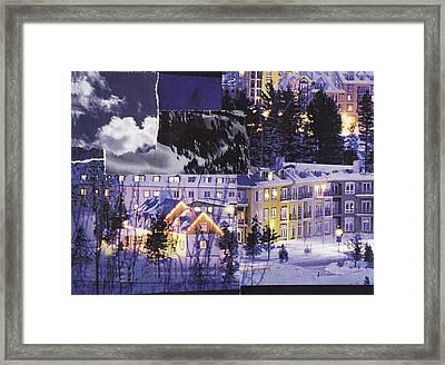 Warming Splendour Of Tremblant Framed Print