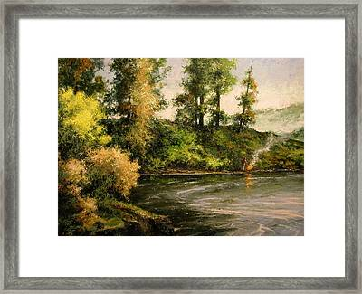 The Bottoms - Warming Up Framed Print
