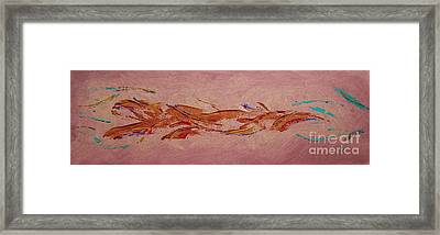 Framed Print featuring the painting Warmth by Arlene Sundby
