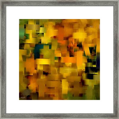 Warmth Essence Framed Print by Lourry Legarde
