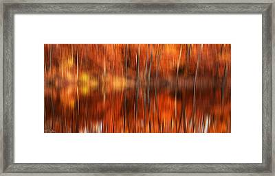 Warmth Impression Framed Print by Lourry Legarde