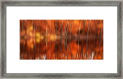 Warmth Impression Framed Print