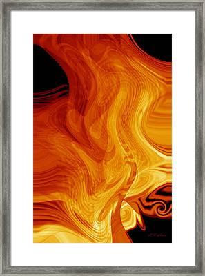 Warmth Framed Print by rd Erickson