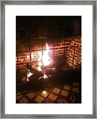 Warmth Framed Print by Selia Hansen