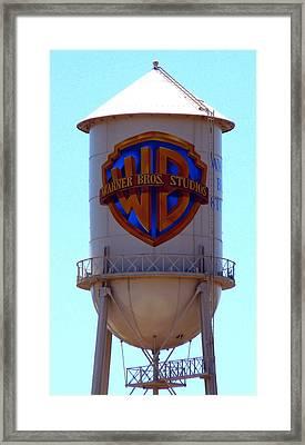 Warner Bros Studios Framed Print
