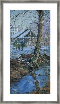 Warner Park Visitor Center Framed Print