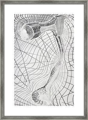Warp Drive Framed Print by Aaron Kittredge