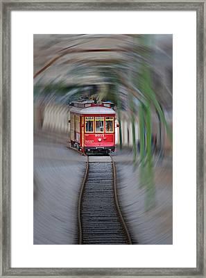 Warp Speed Framed Print