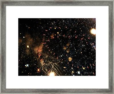 Warp Speed Framed Print by Cynthia Lassiter