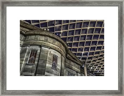 Warped Perceptions Framed Print by Lynn Palmer