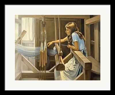 Loom Framed Prints