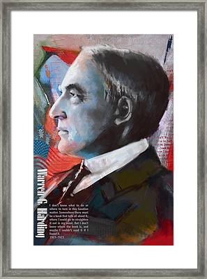 Warren G. Harding Framed Print by Corporate Art Task Force
