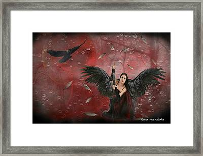 Warrior Angel  Framed Print