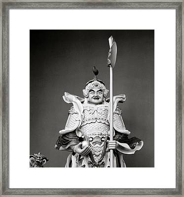 Warrior God Framed Print by Shaun Higson