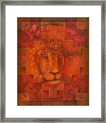 Warrior King Framed Print