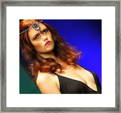 Warrior Woman 1 Framed Print by DerekTXFactor Creative