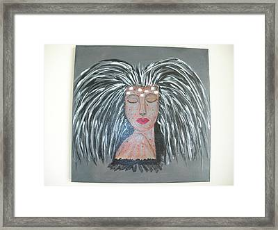 Warrior Woman #2 Framed Print