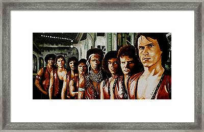 Warriors Come Out To Play Framed Print