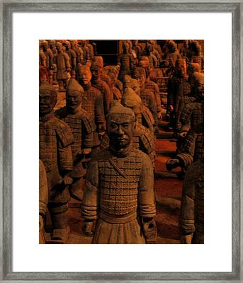 Framed Print featuring the photograph Warriors by Patricia Januszkiewicz