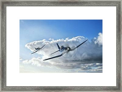 Warriors Framed Print by Peter Chilelli