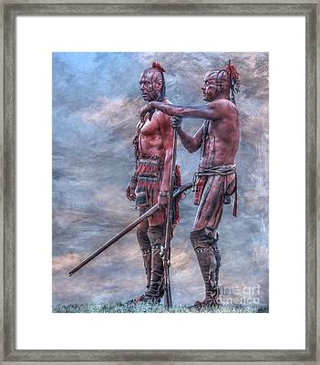 Warriors Framed Print by Randy Steele