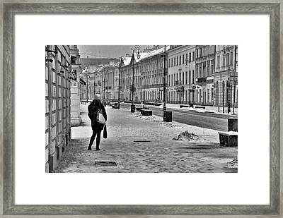 Warsaw 1 Framed Print by Steven Richman