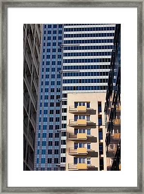 Warsaw Downtown Architecture Framed Print by Artur Bogacki