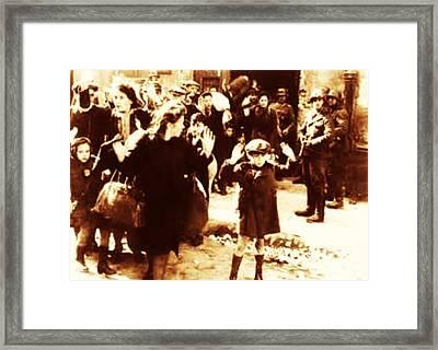Warsaw Ghetto 1943 Framed Print