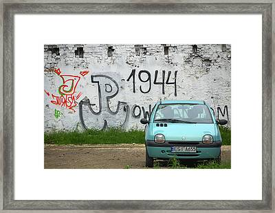 Framed Print featuring the photograph Warsaw by Steven Richman