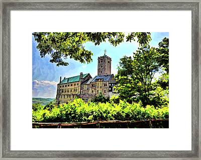 Wartburg Castle - Eisenach Germany - 1 Framed Print
