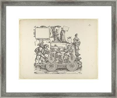 Wartime Triumphs, From The Triumphal Framed Print by Hans Burgkmair