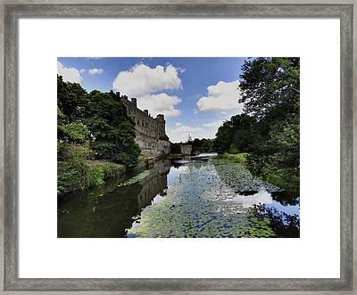 Warwick Castle Framed Print by Ron Grafe