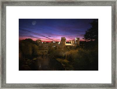 Warwick Castle Watercolour Framed Print