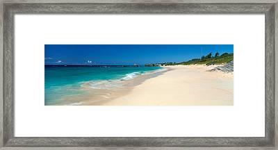 Warwick Long Bay Beach Bermuda Framed Print by Panoramic Images