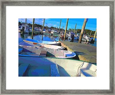 Warwick Marina Framed Print by Lourry Legarde