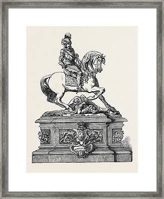 Warwick Race Plate, 1852 Framed Print