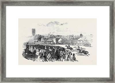 Warwick Races Framed Print