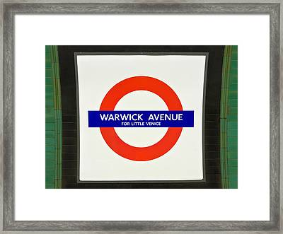Framed Print featuring the photograph Warwick Station by Keith Armstrong