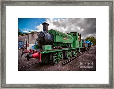 Warwickshire No 2047 Framed Print by Adrian Evans