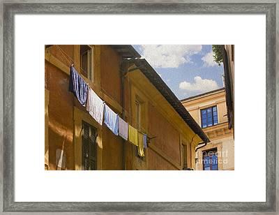 Wash Day Framed Print by Diane Diederich