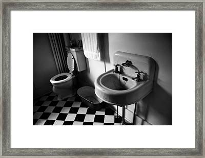 Wash Hands  Framed Print by Jerry Cordeiro