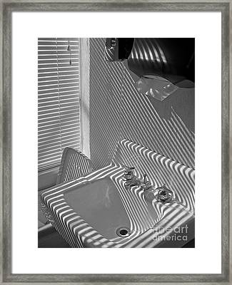 Wash Please Framed Print