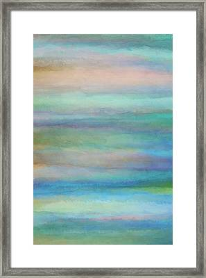Washed 12 Framed Print by Cora Niele