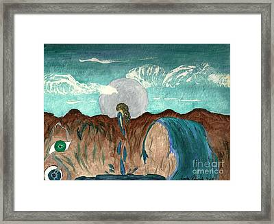Washed Clean Framed Print