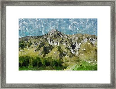 Washed Out Framed Print by Ayse Deniz